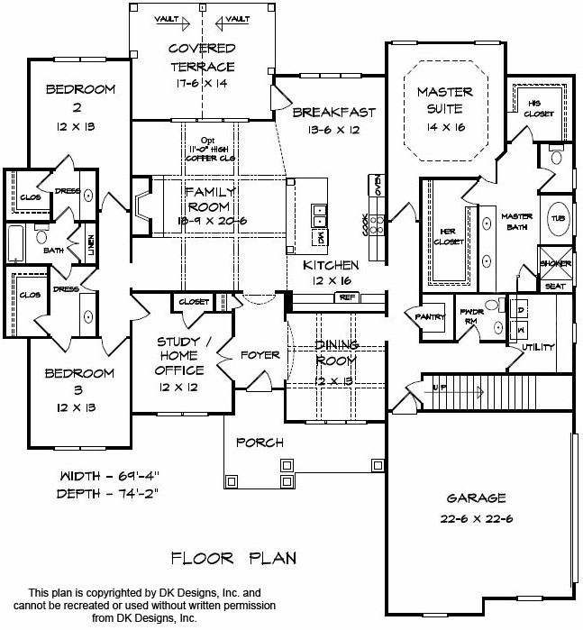 Edenville Floor 1 | Apex Home Builders