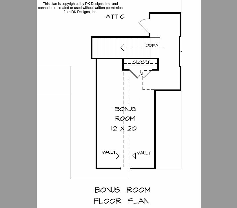 Edenville Floor 2 | Apex Home Builders