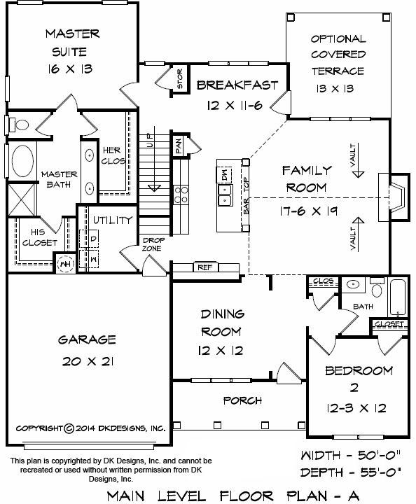 Grovetown Floor Plan | Apex Custom Homes