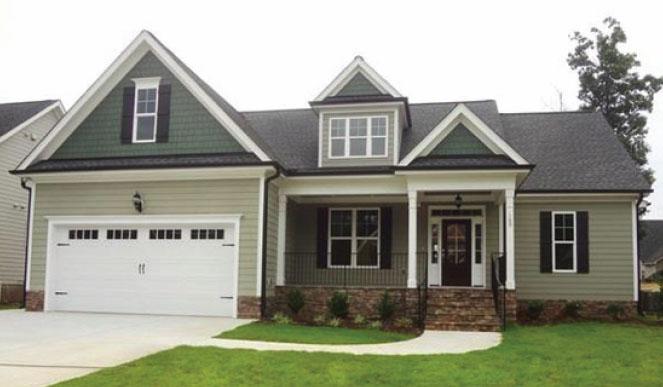 The Chandler Floor Plan | Siler City New Homes