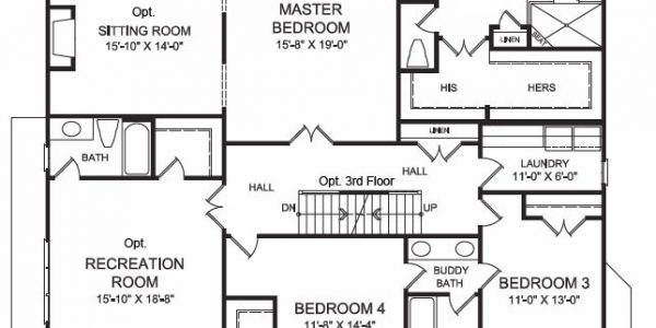 The Eastwood Floor Plan | Apex New Homes