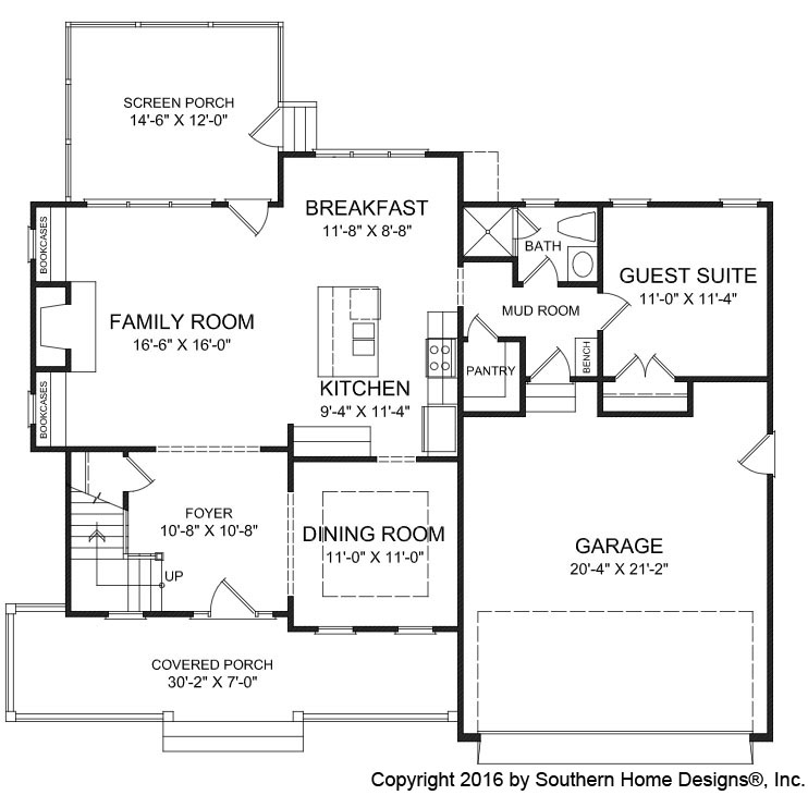 The Weston House Plan | Chapel Hill New Home Builder