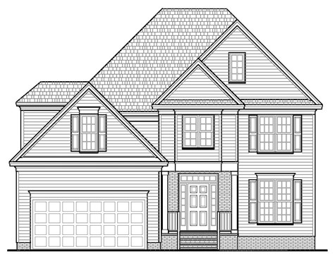 The Atwood Floor Plan | Custom Home Builder Chatham County