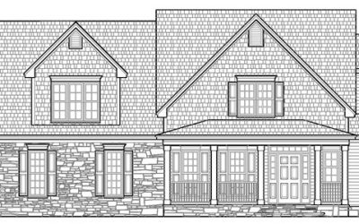 The Chesnee Floor Plan | Siler City Home Builders