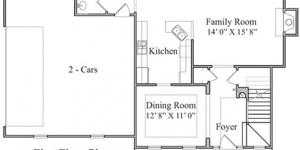 The Chesnee Floor Plan | Siler City Home Builders