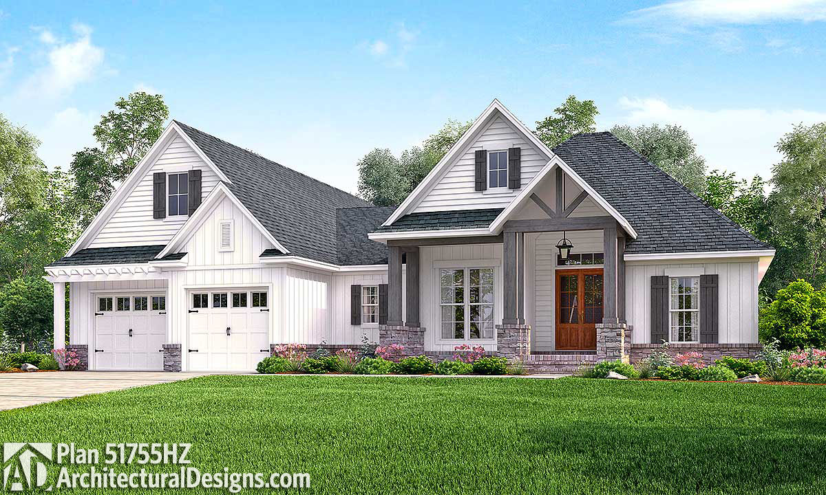 Contemporary Craftsman Home with Bonus Over Garage