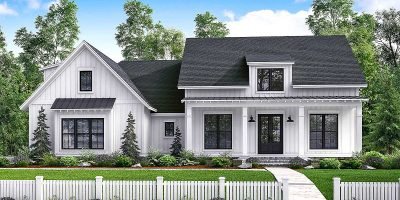 Modern Farmhouse | Chatham County NC New Homes