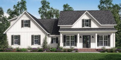Farmhouse Plan with Optional Bonus Room
