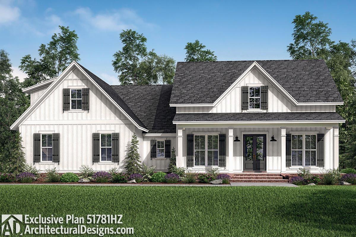Farmhouse Plan with Optional Bonus Room