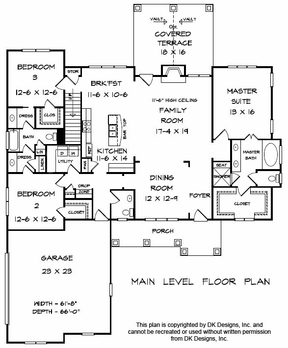 Jack and Jill Floor Plan | Pittsboro New Home Builder