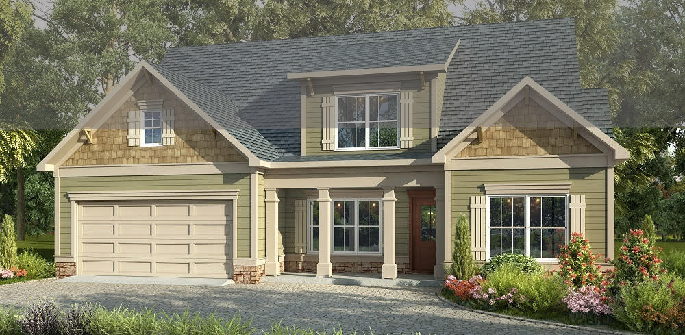 Grovetown Floor Plan | Apex Custom Homes