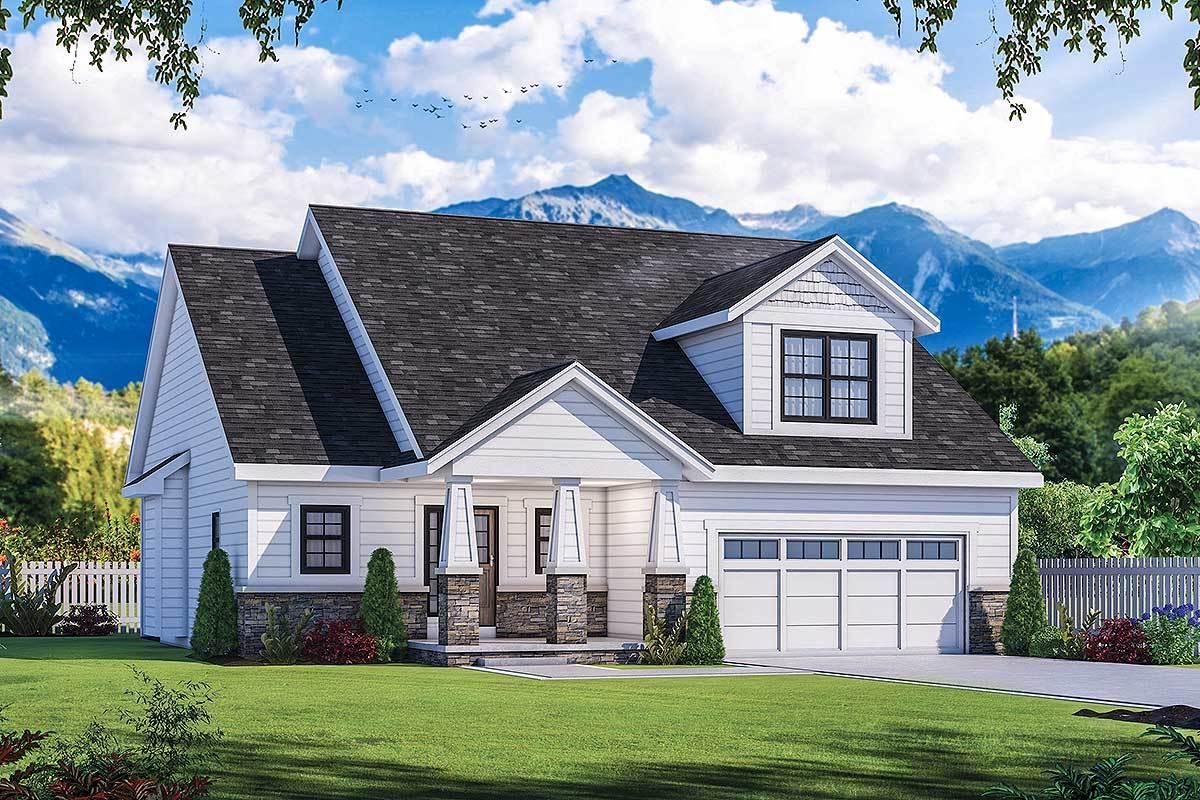 Raleigh White Farmhouse | Raleigh Custom Homes