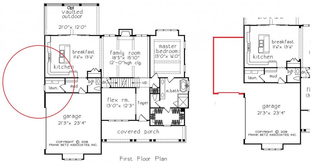 How to Modify a Floor Plan | Custom Homes Durham NC
