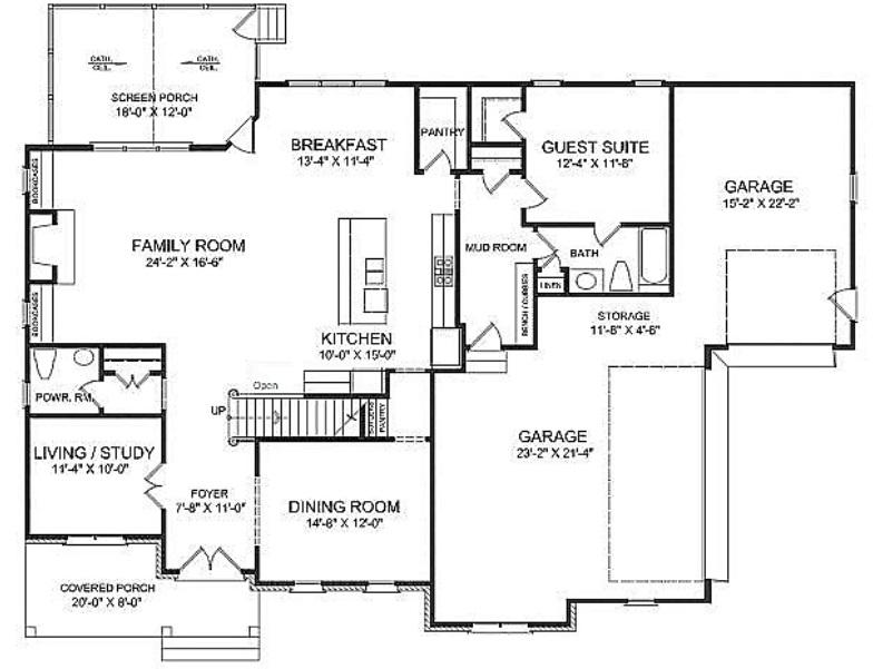 Edinburgh   Chapel Hill New Home Plans