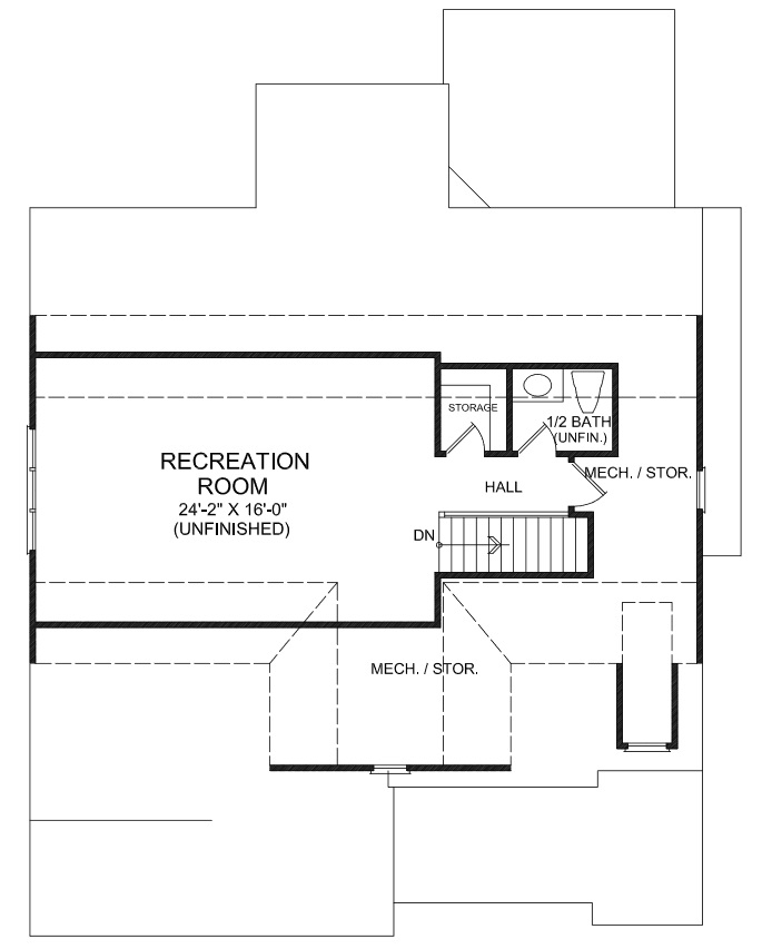 Pittsboro New Custom House Plans