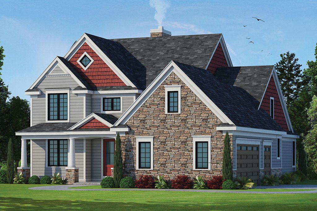 New home architectural styles in North Carolina