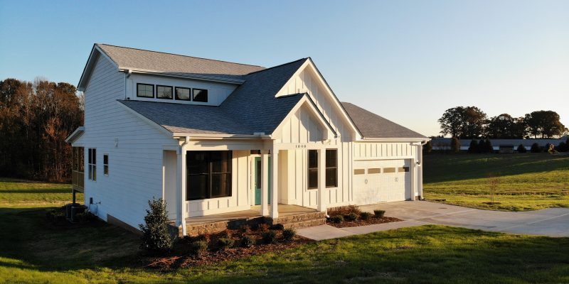 Travars Built Homes - new custom farmhouse available in Pittsboro
