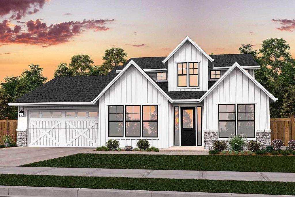 Modern Farmhouse by Chatham County custom home builders Travars Built Homes