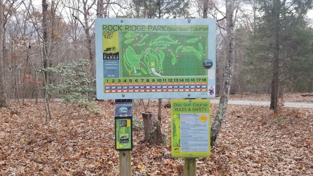 Things to do in Pittsboro - Disc Golf at Rock Ridge Park
