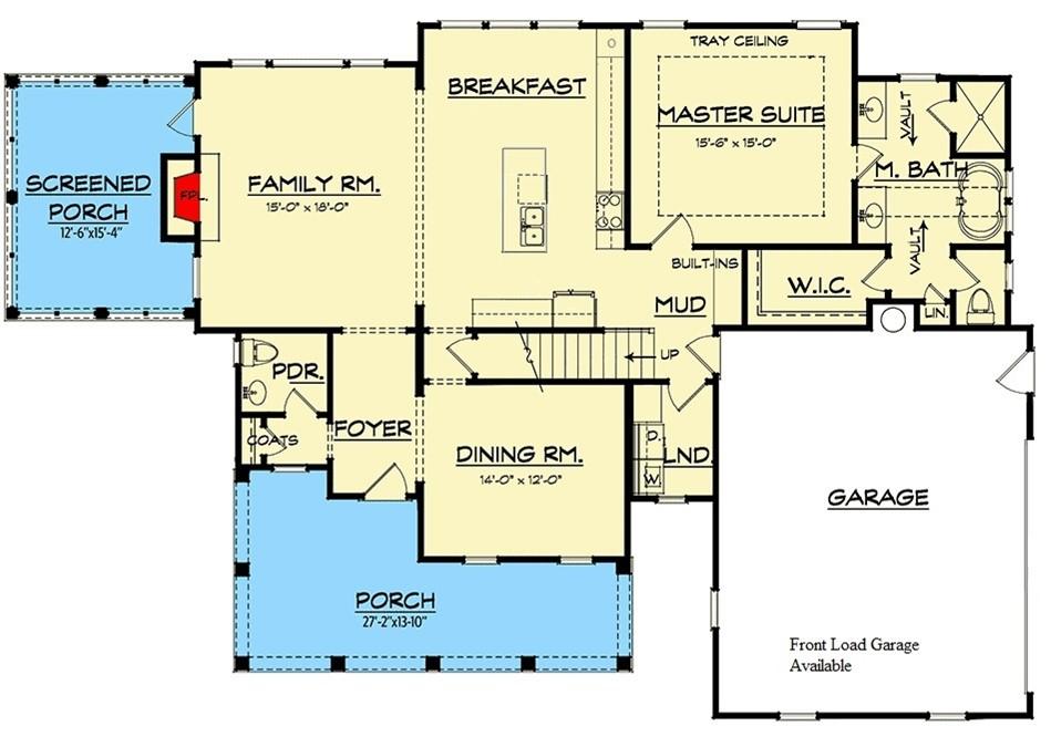 River Bluff - Plan 740005LA