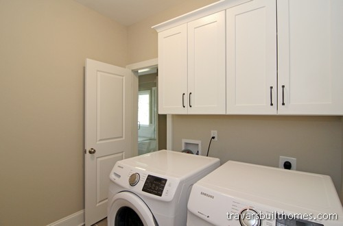 Chatham County New Home Laundry Room