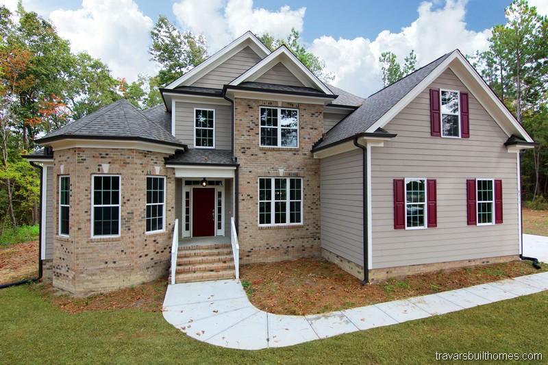 Raleigh Custom Homes | Brick Exterior