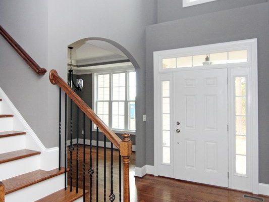 Raleigh Custom Homes | Two Story Foyer