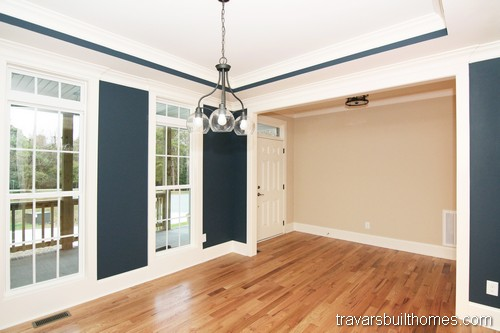 Wendell North Carolina New Homes | First Floor Office
