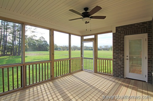 Indoor outdoor living spaces | NC new homes