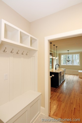 Wendell North Carolina New Homes | Laundry Room Drop Zone Storage Center