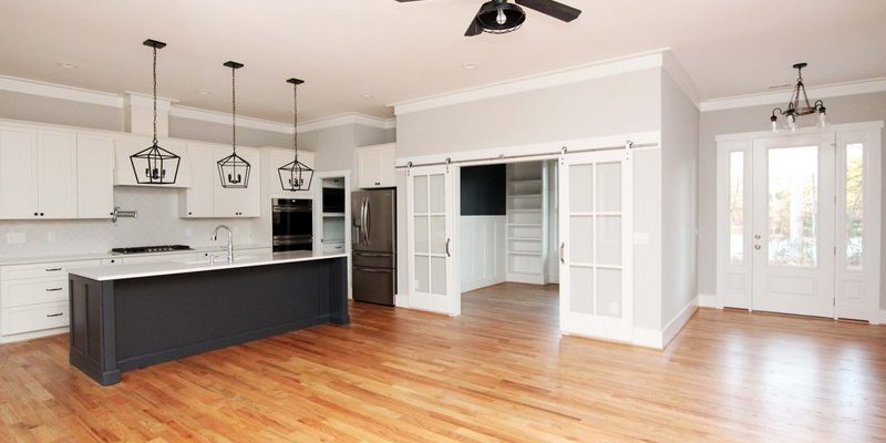 Open Kitchen Farmhouse | Mebane NC New Homes