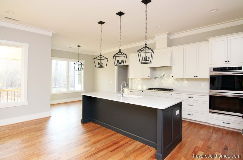 Modern Farmhouse Kitchen | Mebane NC New Homes