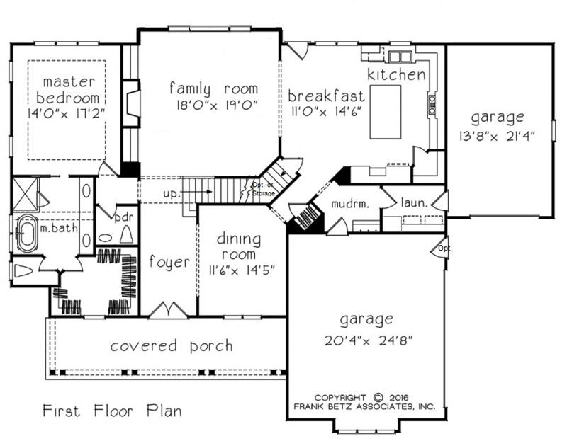 First Floor Bedroom Floor Plans | New Home Builders Chapel Hill NC