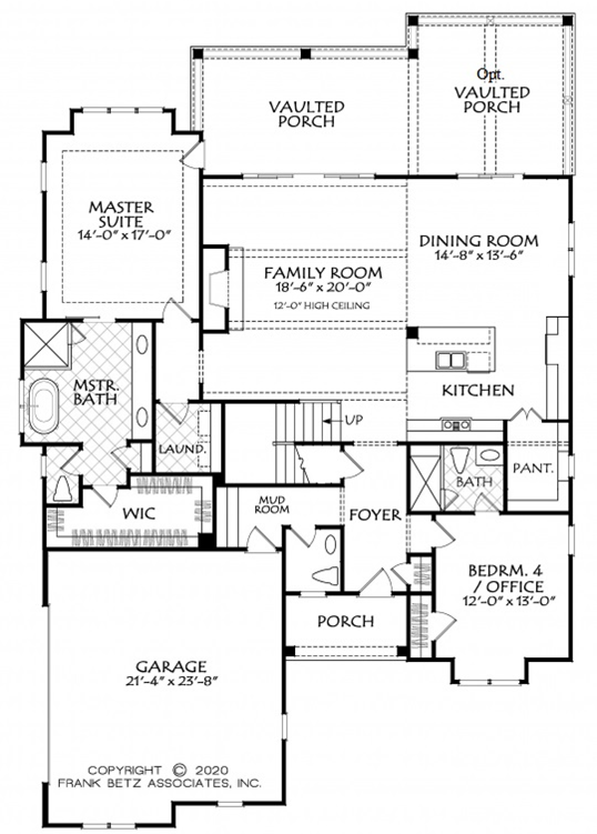 Board-and-Batten Exterior   House Plans