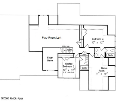 Two Master Bedroom Floor Plans | Plans with Two Master Suites