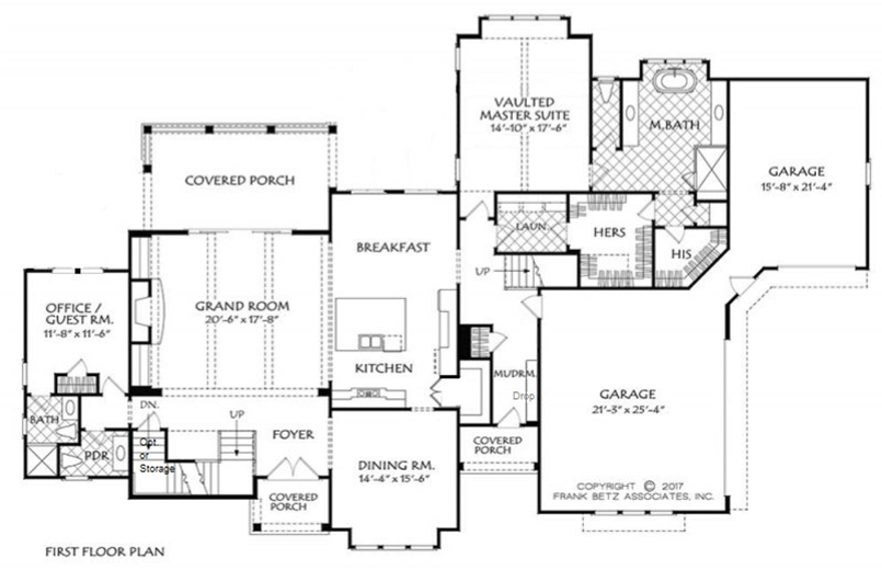 Two Master Bedroom Floor Plan | Multigenerational Home Builder