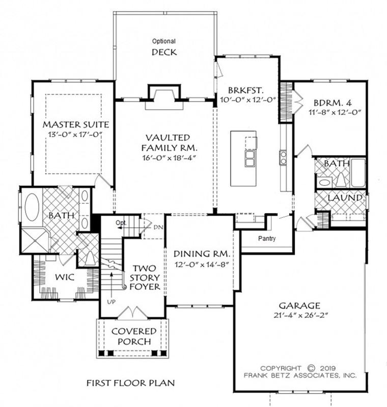 Siler City NC Home Builders | Custom Home Floor Plans