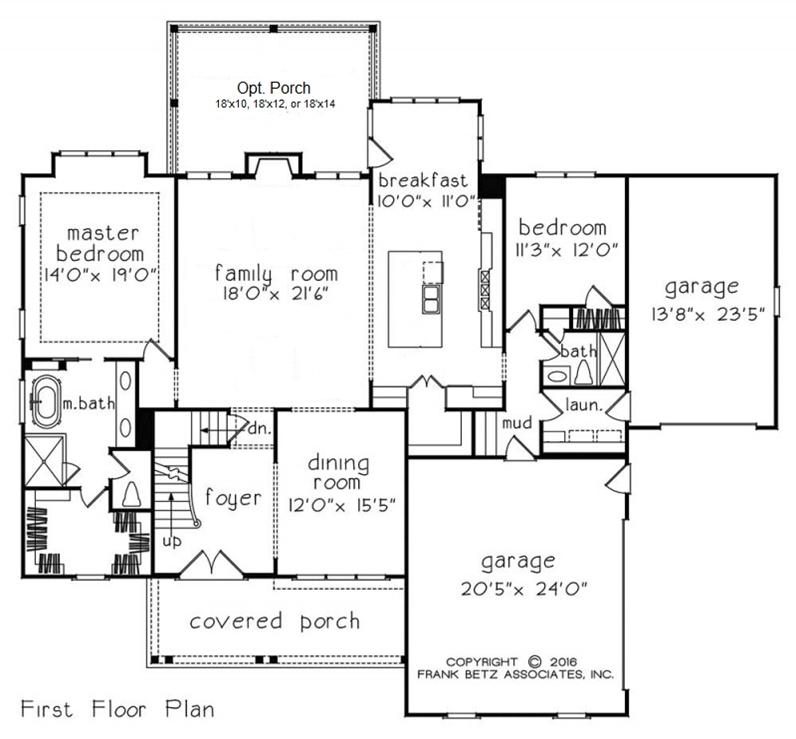 Downstairs Master Bedroom Floor Plans | Apex NC Home Builder