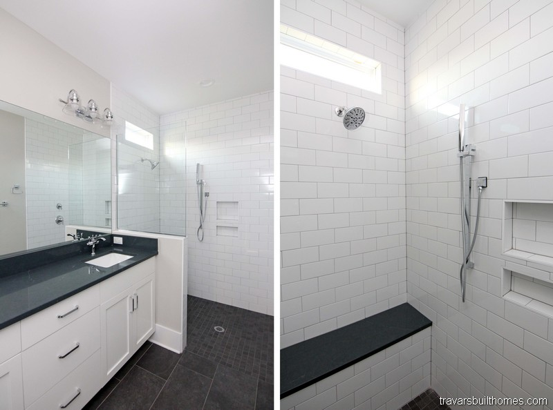 Accessible Shower Floor | On Your Lot Builder Chapel Hill NC