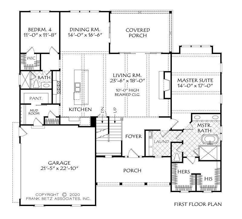 Chatham County New Home | Custom Home Floor Plan