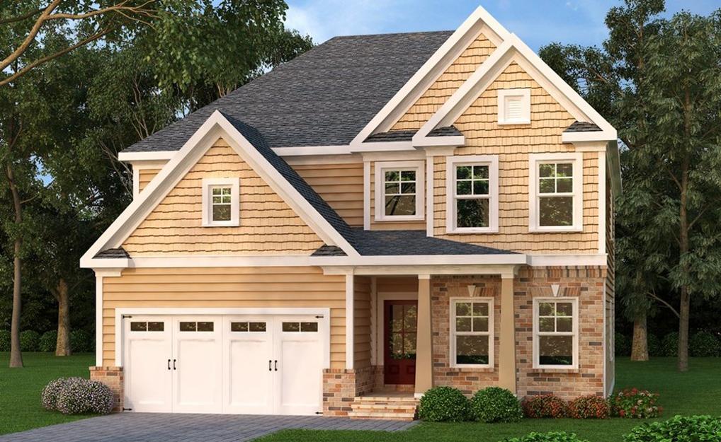 Two Story North Carolina House Plan