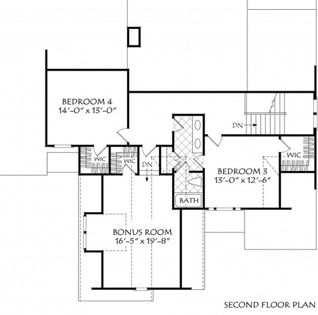 NC Contemporary Farmhouse Plan