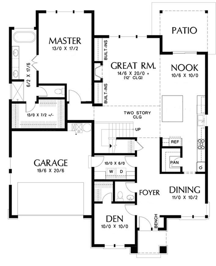 NC Contemporary House Plan