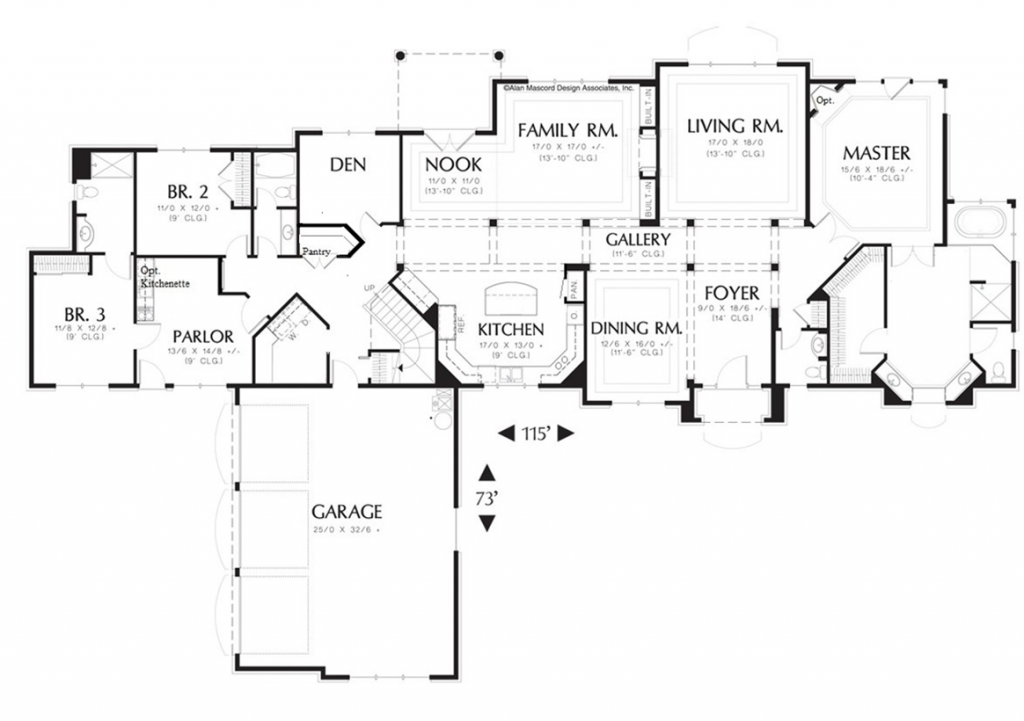 In Law Suite New Home Plan
