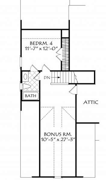 Custom Craftsman Farmhouse Plan