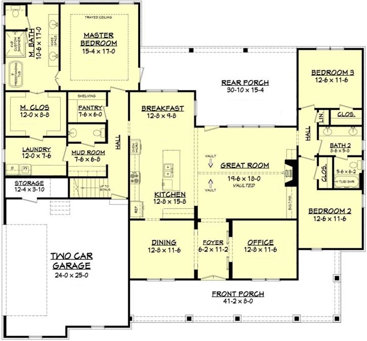 One Story Home with MultiGen and Accessible Options