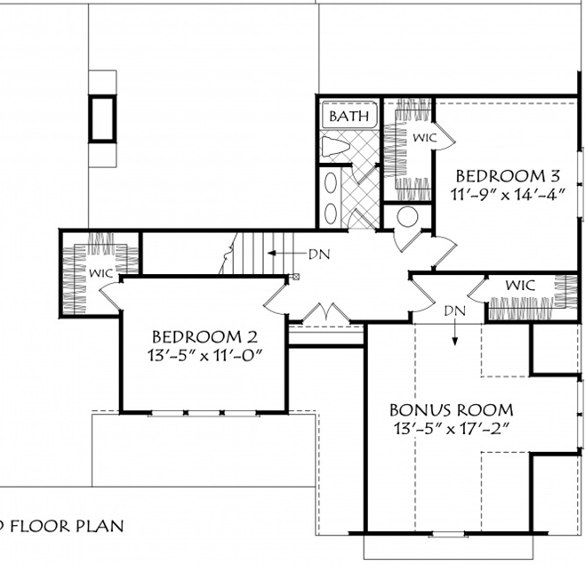 Downstairs Owner's Suite House Plan