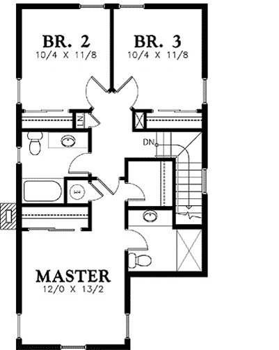 Two Story New House Plan