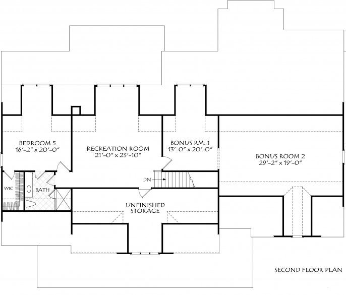 New Modern Farmhouse Home Plan