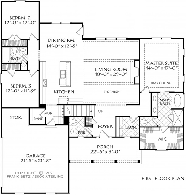 NC Custom Home Floor Plan